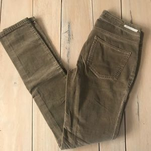 Pilcro and the Letterpress Corduroy Skinny Pant